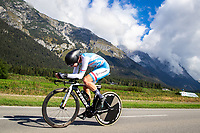 Picture by Alex Whitehead/SWpix.com - 25/09/2018 - Cycling - UCI 2018 Road World Championships - Innsbruck-Tirol, Austria - Junior Men's Individual Time Trial - KIRSCH Gilles (Luxembourg)