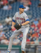 New York Mets starting pitcher Jacob deGrom (48) works in the first inning against the Washington Nationals at Nationals Park in Washington, D.C. on Tuesday, September 3, 2019.<br /> Credit: Ron Sachs / CNP<br /> (RESTRICTION: NO New York or New Jersey Newspapers or newspapers within a 75 mile radius of New York City)