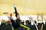 18.02.2018,  Helmut-K&ouml;rnig-Halle, Dortmund, GER, Deutsche Leichtathletik Meisterschaften Dortmund 2018, <br /> <br /> im Bild | picture shows:<br /> Raphael Holzdeppe (LAZ Zweibr&uuml;cken) im Stabhochsprung Finale, <br /> <br /> Foto &copy; nordphoto / Rauch