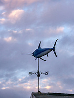 Swordfish weather vane.