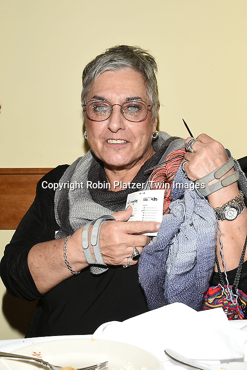 Marcia Rudnitsky, winner of the competition  attends the Big Apple Knitters Guild 25th Annual Luncheon Gala on September 24, 2016 at Kellari Taverna in New York City, New York, USA. <br /> <br /> photo by Robin Platzer/Twin Images<br />  <br /> phone number 212-935-0770