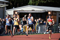 James Mortimer 168 in action during the Athletics - NZ Track and Field Championships at Newtown Park, Newtown, New Zealand on Friday 6 March 2015. <br /> Photo by Masanori Udagawa. <br /> www.photowellington.photoshelter.com.