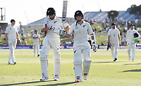 23rd November 2019; Mt Maunganui, New Zealand;  BJ Watling acknowledges the crowd after scoring a centruy at the end of play on Day 3, 1st Test match between New Zealand versus England. International Cricket at Bay Oval, Mt Maunganui, New Zealand.  - Editorial Use