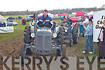 Patrick Woulfe Listowel leads the tractors at the Vintage rally in Killarney on Sunday    Copyright Kerry's Eye 2008