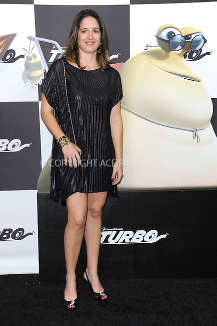 WWW.ACEPIXS.COM<br /> July 9, 2013...New York City <br /> <br /> Bia Figueiredo attending the DreamWorks Animation, in Association with 20th Century Fox Premiere of TURBO<br /> at AMC Loews Lincoln Square, New York, NY on July 9, 2013.<br /> <br /> Please byline: Kristin Callahan... ACE<br /> Ace Pictures, Inc: ..tel: (212) 243 8787 or (646) 769 0430..e-mail: info@acepixs.com..web: http://www.acepixs.com