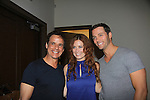 "Christian LeBlanc - Melissa Archer and Eric Martsolf at Southwest Florida SoapFest's Celebrity Weekend cames to see Tom Pelphrey doing A Night at the Theatre performing ""My Italy Story"" benefitting the Apothecary Theatre Company at the Rose History Auditorium on November 11, 2012 in Marco Island, Florida. (Photo by Sue Coflin/Max Photos)"
