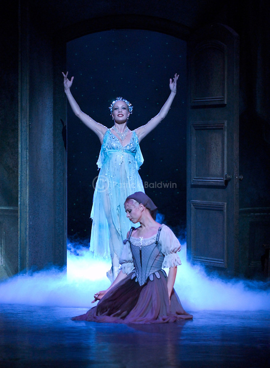 English National Ballet 2003.Michael Corder's Cinderella. Jo Maley, Agnes Oaks