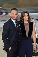 LONDON, ENGLAND - JULY 13: Tom Hardy and Charlotte Riley attending the World Premiere of 'Dunkirk' at Odeon Cinema, Leicester Square on July 13, 2017 in London, England.<br /> CAP/MAR<br /> &copy;MAR/Capital Pictures /MediaPunch ***NORTH AND SOUTH AMERICAS ONLY***