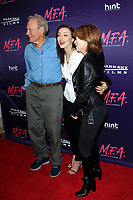 LOS ANGELES - OCT 2: Clint Eastwood, Francesca Eastwood, Frances Fisher at the premiere of Dark Sky Films' 'M.F.A.' at The London West Hollywood on October 2, 2017 in West Hollywood, California