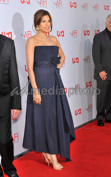 12 June 2008 - Hollywood, California - Eva Mendes. 36th AFI Life Achievement Award tribute to Warren Beatty held at the Kodak Theatre. Photo Credit: Jaguar/AdMedia