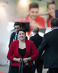 © Joel Goodman - 07973 332324 . 02/10/2016 . Birmingham , UK . RUTH DAVIDSON at the ICC for the first day of the Conservative Party Conference at the International Convention Centre in Birmingham . Photo credit : Joel Goodman