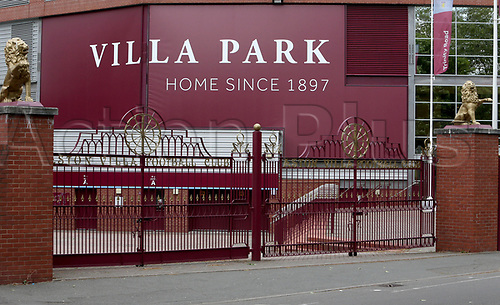 11th May 2020, Villa Park, Birmingham, United Kingdom;  Villa Park stands deserted due to the lock-down due to the Covid-19 Pandemic