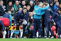 Middlesbrough staff celebrate their win over Charlton Athletic during Charlton Athletic vs Middlesbrough, Sky Bet EFL Championship Football at The Valley on 7th March 2020