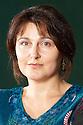 Karen Campbell,former police officer now a crime writer whose heroine is Anna Cameron at The Edinburgh International  Book Festival 2010 .CREDIT Geraint Lewis