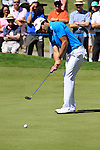 Gareth Maybin putts on the 5th green during Round 3 of the BMW PGA Championship at  Wentworth, Surrey, England, 22nd May 2010...Photo Golffile/Eoin Clarke.(Photo credit should read Eoin Clarke www.golffile.ie)....This Picture has been sent you under the condtions enclosed by:.Newsfile Ltd..The Studio,.Millmount Abbey,.Drogheda,.Co Meath..Ireland..Tel: +353(0)41-9871240.Fax: +353(0)41-9871260.GSM: +353(0)86-2500958.email: pictures@newsfile.ie.www.newsfile.ie.