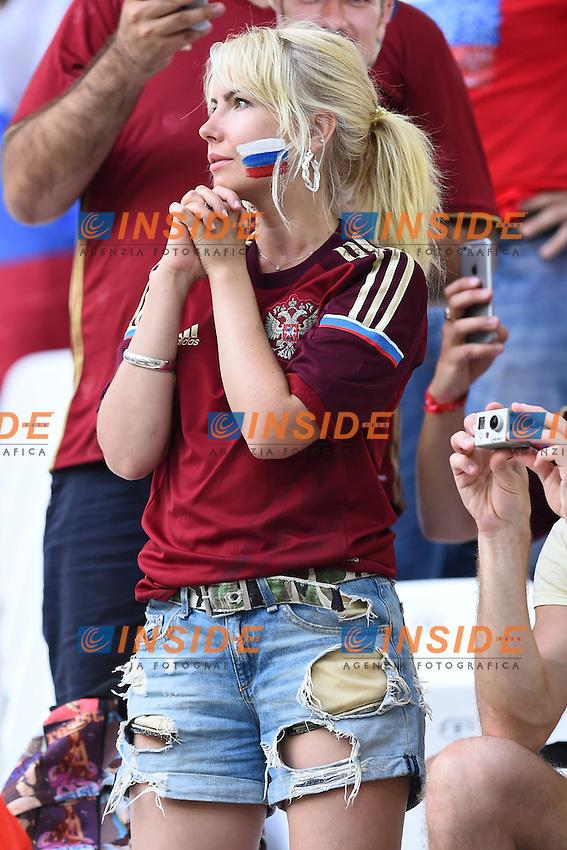 Tifosa Russia Supporters <br /> Marseille 11-06-2016 Stade Velodrome football Euro2016 England - Russia  / Inghilterra - Russia Group Stage Group B. Foto Massimo Insabato / Insidefoto