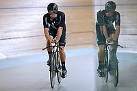 Nick Kergozou during training, Avantidrome, Home of Cycling, Cambridge, New Zealand, Friday, March 17, 2017. Mandatory Credit: © Dianne Manson/CyclingNZ  **NO ARCHIVING**