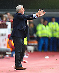 Walter Smith appeals to the referee