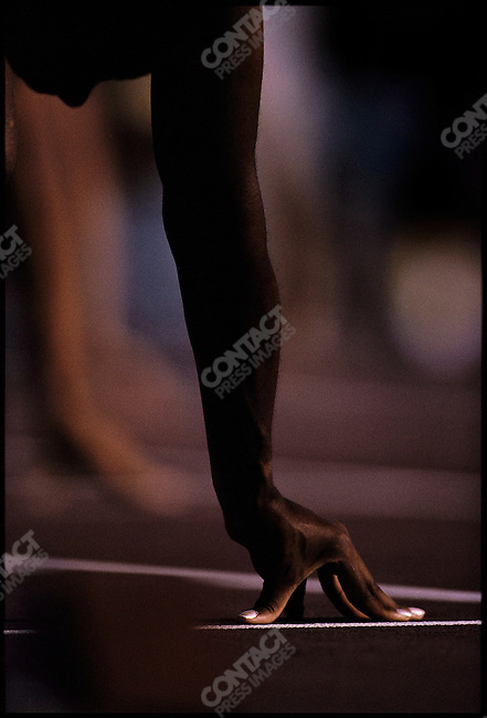 Women's 200m Summer Olympics, Atlanta, Georgia, USA August 1996