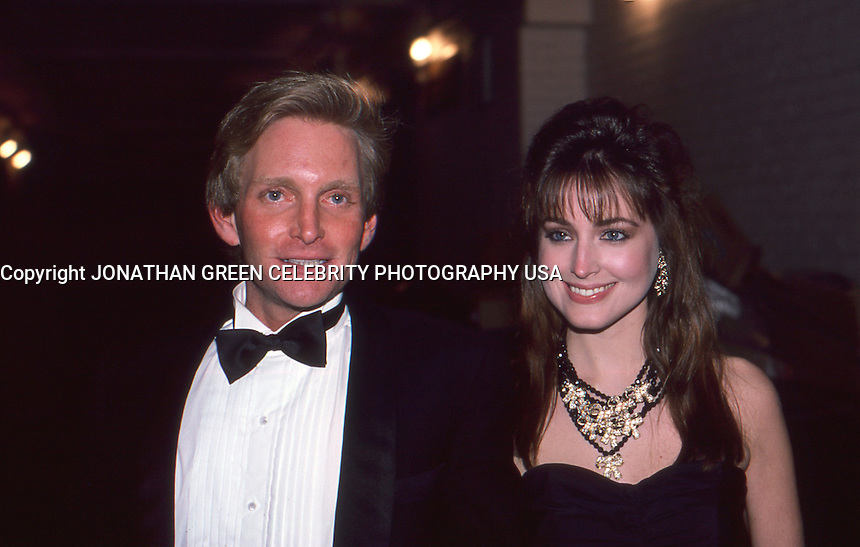 Eric Douglas & Girlfriend 1987 by <br />
