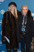 London, UK. 19 January 2016. Jo Wood and Brix Smith Start. Celebrities arrive on the red carpet for the London premiere of Amaluna, the latest show of Cirque du Soleil, at the Royal Albert Hall.