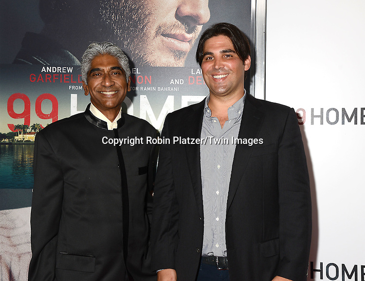 producers Ashok Amritraj and Kevin Turen attends the New York Premiere of &quot;99 Homes&quot; on September 17, 2015 at AMC Loews Lincoln Square in New York City, New York, USA.<br /> <br /> photo by Robin Platzer/Twin Images<br />  <br /> phone number 212-935-0770
