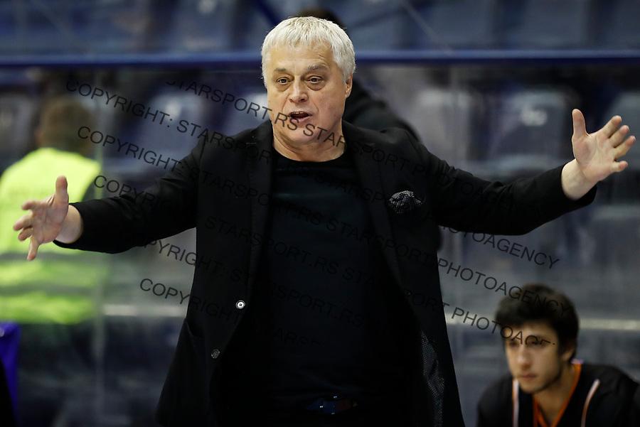 Kosarka,<br /> Mozzart KLS season 2016-2017<br /> Partizan v Dynamic (Dinamik)<br /> Head coach Miroslav Nikolic<br /> Belgrade, 29.04.2017.<br /> foto: Srdjan Stevanovic/Starsportphoto &copy;