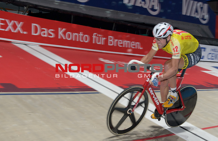 13.01.2015, &Ouml;VB Arena, Bremen, GER, Sixdays Bremen, im Bild Robert Lea (Team Lotto #12)<br /> <br /> Foto &copy; nordphoto / Frisch