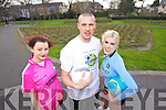 Kerry footballer Kieran Donaghy along wih Models Aoife Healy and Genevieve Keane launch Kerry Activity experience which takes place from the 29th of June to the13th of July.