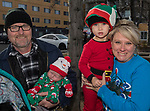 The Husman family during the Sparks Hometowne Christmas Parade held on Saturday, December 2, 2017.