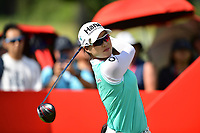 SINGAPORE - FEBRUARY 01: Minjee Lee of Australia on the 1st tee during the second round of the HSBC Women's World Championship 2019 at Sentosa Golf Club - Tanjong Course, Singapore on March 01, 2019.<br /> .<br /> .<br /> .<br /> (Photo by: Naratip Golf Srisupab/SEALs Sports Images)<br /> .<br /> Any image use must include a mandatory credit line adjacent to the content which should read: Naratip Golf Srisupab/SEALs Sports Images