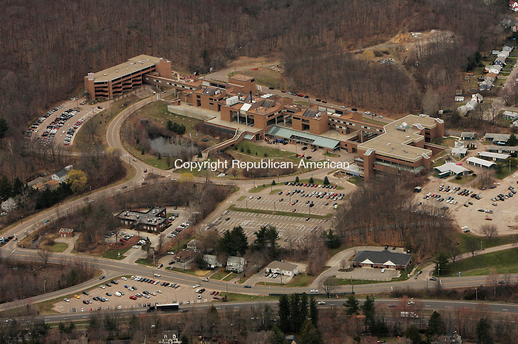 WATERBURY, CT, Naugatuck Valley Community College seen in an<br /> aerial photograph from April, 6, 2006.<br /> Jamison C. Bazinet Republican-American
