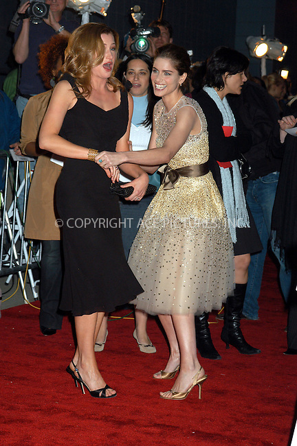 WWW.ACEPIXS.COM . . . . . ....NEW YORK, APRIL 18, 2005....Amanda Peet and Kathryn Hahn at the premiere of 'A Lot Like Love' at the Clearview Chelsea West. ....Please byline: KRISTIN CALLAHAN - ACE PICTURES.. . . . . . ..Ace Pictures, Inc:  ..Craig Ashby (212) 243-8787..e-mail: picturedesk@acepixs.com..web: http://www.acepixs.com