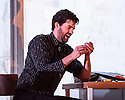 English National Opera presents, in a co-production with Dutch National Opera, Amsterdam, Puccini's LA BOHEME, at the London Coliseum. Picture shows: Zach Borichevsky (Rodolfo)