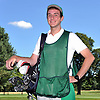 J.T. Surlis, caddie at Southward Ho Country Club in Bay Shore, poses for a portrait at the club on Wednesday, July 26, 2017. After graduating from Bay Shore High School in June he was awarded a Chick Evans Scholarship for golf caddies. He will attend Northwestern University in the fall.