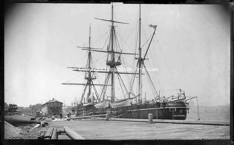 Frederick Stone negative .USS Kearsarge.