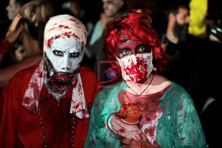49 Festival Internacional de Cinema Fantastic de Catalunya-Sitges 2016.<br /> Zombie Walk 2016.