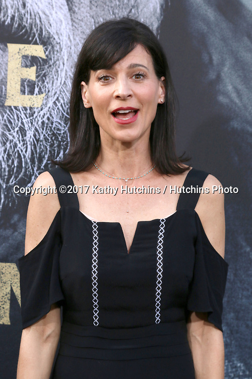 "LOS ANGELES - MAY 8:  Perrey Reeves at the ""King Arthur Legend of the Sword"" World Premiere on the TCL Chinese Theater IMAX on May 8, 2017 in Los Angeles, CA"