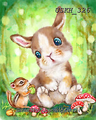 Kayomi, EASTER, OSTERN, PASCUA, paintings+++++,USKH326,#e#, EVERYDAY ,rabbits