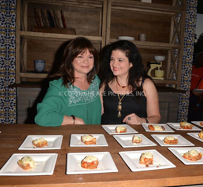 www.acepixs.com<br /> <br /> February 23 2017, Miami<br /> <br /> TV personality Valerie Bertinelli (L) and Alex Guarnaschelli attends Barilla's Italian Bites on the Beach hosted by Valerie Bertinelli &amp; Alex Guarnaschelli on February 23, 2017 in Miami Beach, Florida.<br /> <br /> By Line: Solar/ACE Pictures<br /> <br /> ACE Pictures Inc<br /> Tel: 6467670430<br /> Email: info@acepixs.com<br /> www.acepixs.com