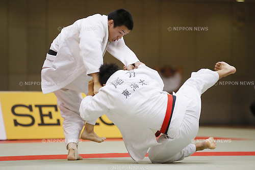Seidai Sato, September 14, 2014 - Judo : All Japan Junior Judo Championships Men's -81kg Final at Saitama Prefectural Budokan, Saitama, Japan. (Photo by Yusuke Nakanishi/AFLO SPORT) [1090]