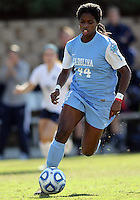 SAN DIEGO, CA - DECEMBER 02, 2012:  Satura Murray (44) of the University of North Carolina during the NCAA 2012 women's college championship match, at Torero Stadium, in San Diego, CA, on Sunday, December 02 2012. Carolina won 4-1.