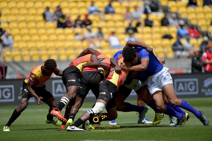 HSBC Wellington Sevens at Westpac Stadium, Wellington, New Zealand on Sunday 29January 2017.<br /> Photo by Masanori Udagawa<br /> www.photowellington.photoshelter.com.