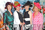 Pictured at Listowel Races, Ladies Day on Friday from left: Eileen Kennedy (Caragh Lake), Evelyn King (Killorglin), Eileen O'Sullivan (Killarney) and Mary McGrath (Arklow).