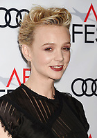 HOLLYWOOD, CA - NOVEMBER 09: Actor Carey Mulligan attends the screening of Netflix's 'Mudbound' at the Opening Night Gala of AFI FEST 2017 presented by Audi at TCL Chinese Theatre on November 9, 2017 in Hollywood, California.<br /> CAP/ROT<br /> &copy;ROT/Capital Pictures