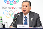 Yoshiro Mori, <br /> APRIL 4, 2014 : Joint press conference in The Tokyo Organizing Committee of the Olympic and Paralympic Games (TOCOG) members and IOC committee members was held in the Shinagawa Prince Hotel in Tokyo, Japan. (Photo by AFLO SPORT)