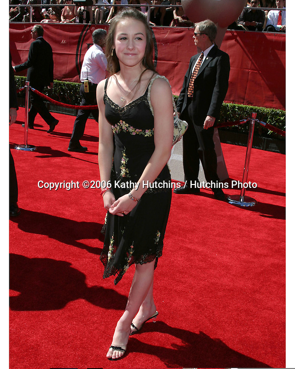 Kimmie Meissner.2006 ESPY Awards.Kodak Theater.Los Angeles, CA.July 12, 2006.©2006 Kathy Hutchins / Hutchins Photo....