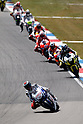 June 26, 2010 - Assen, Holland - Jorge Lorenzo powers his bike during practices of the Dutch Grand Prix at Assen, Holland, on June 26, 2010. (Photo Andrew Northcott/Nippon News)..