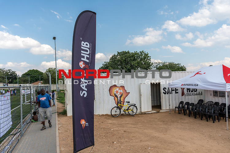 08.01.2019, AMANDLA Save Hub, Johannesburg, RSA, TL Werder Bremen Johannesburg Tag 06 - Besuch des AMANDLA Save Hub<br /> <br /> im Bild / picture shows <br /> <br /> Safe HUB Lager<br /> <br /> <br /> **** Attention *** **** Attention *** <br /> <br /> Only be used for the purpose of documenting the Safe-Hub visit on 08 January 2019<br /> <br /> Foto © nordphoto / Kokenge