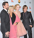 Hugh Jackman ,Deborra-Lee Furness,Nicole Kidman and Keith Urban at The G'Day USA Black Tie Gala held at The JW Marriot at LA Live in Los Angeles, California on January 12,2013                                                                   Copyright 2013 Hollywood Press Agency
